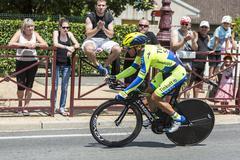The Cyclist Sergio Paulinho - Tour de France 2014 - stock photo