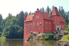 Red castle house Kuvituskuvat