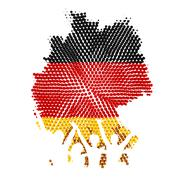 German Unity - stock illustration