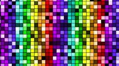Gay pride rainbow lights Stock Footage
