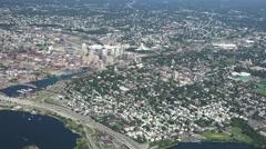 Providence Ri Aerial Stock Footage