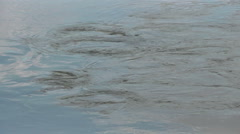 River vortex. danger Stock Footage