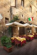 Siena - Picturesque nook of Tuscany - stock photo