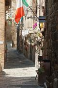 Beautiful picturesque nook of rural Tuscany - stock photo