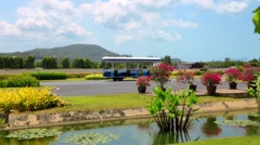 Stock Video Footage of Samui airport runaway