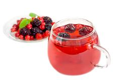 Fruit tea - stock photo