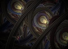 Stock Illustration of Technology, Abstract background. Elegant design.