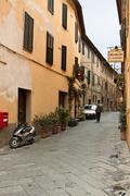 Montalcino - Picturesque nook of Tuscany - stock photo