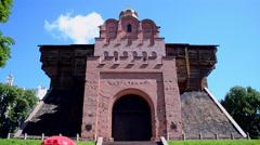 Golden Gates of Kyiv in Kiev, Ukraine. Stock Footage