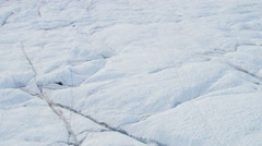 Aerial Frozen Ice Mass Arctic Glacier Greenland Changing Meteorology Climate - stock footage