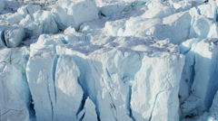 Aerial Melting Polar Icecap Climate Change Travel Destination - stock footage