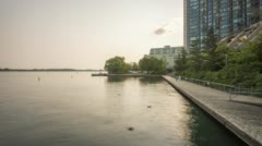 Toronto - Harbour Park Stock Footage
