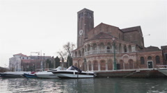 Chiesa dei Santi Maria e Donato in Murano Venice 06 Stock Footage