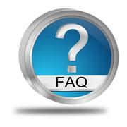Stock Illustration of FAQ Button