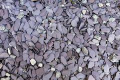 Shingle or gravel background of stones and pebbles Stock Photos