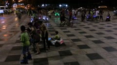 Vungtau nigthlife Stock Footage