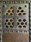Crucifix Door - stock photo