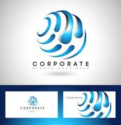 Business Corporate Logo Piirros