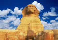 Egyptian pharaoh - stock photo