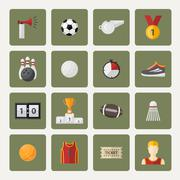 Vector sports icon Stock Illustration