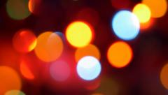 Christmas  colorful sparkles  background  lights 4K UHD 3840X2160  footage - - stock footage