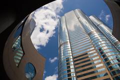 Financial buildings Stock Photos