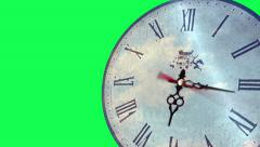 Spinning Clock Time-lapse - stock footage