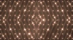 Disco orange spectrum lights concert spot bulb. - stock footage