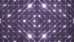 Disco violet spectrum lights concert spot bulb. - stock footage