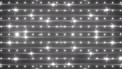 Disco silver spectrum lights concert spot bulb. - stock footage