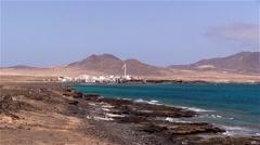 City Puerto de la Cruz  on Fuerteventura Stock Footage