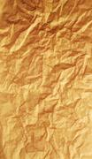 Textured obsolete crumpled packaging brown paper Stock Photos