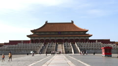 Hall of Supreme Harmony, Forbidden City - stock footage