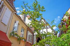 Stock Photo of Bremen Schnoor Quarter