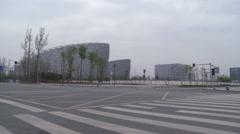 Chengdu, modern Chinese city, China Stock Footage