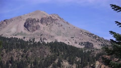 Lassen Volcanic National Park ,peak Stock Footage