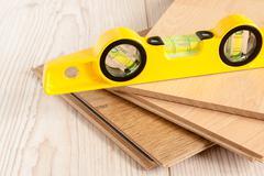 Wood Laminate Flooring Stock Photos
