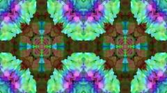 Multicolor decorative video - kaleidoscope Stock Footage