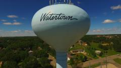 Watertown SD Water Tower HD 2 Stock Footage