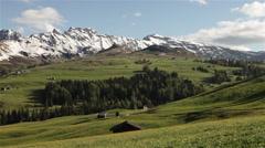 Sudtirol Alto Adige Italian Alps Landscape 08 Stock Footage