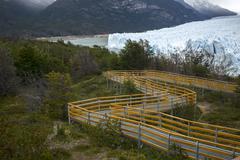 Perito Moreno Glacier, Lake Argentino, Los Glaciares National Park, Santa Cruz Stock Photos
