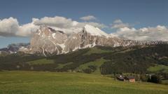 Sudtirol Alto Adige Italian Alps Landscape 11 Stock Footage