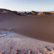 Valle de la Luna, San Pedro de Atacama, El Loa Province, Antofagasta Region, - stock photo