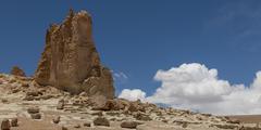 Salar de Atacama, San Pedro de Atacama, El Loa Province, Antofagasta Region, - stock photo