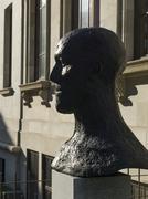 Sculpture Garden at Montreal Museum of Fine Arts, Montreal - stock photo