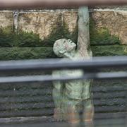 American Merchant Mariners Memorial on the Hudson River - stock photo