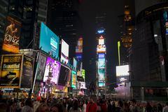 Times Square, Manhattan, New York City, New York State, USA Stock Photos