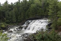 Plaisance Falls, Petite-Nation River, Quebec, Canada - stock photo