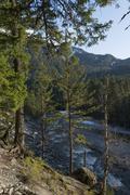 Nairn Falls Provincial Park, Whistler, British Columbia, Canada - stock photo