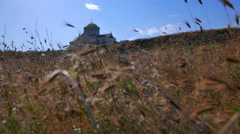 Cathedral of St. Vladimir in Sevastopol, Crimea. Stock Footage